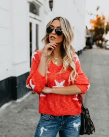 Lucky Stars Sweater by Vici at Vici
