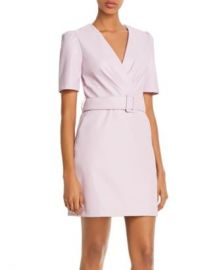 Lucy Paris Belted Faux Leather Sheath Dress - 100  Exclusive  Women - Bloomingdale s at Bloomingdales