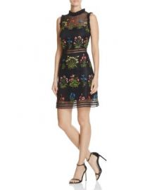 Lucy Paris Gabby Embellished Mesh Dress - 100  Exclusive at Bloomingdales