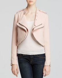Lucy Paris Jacket - Bloomingdaleand039s Exclusive Crop Moto at Bloomingdales