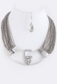 Lucy in Chains Necklace in Silver at My Jewel Candy