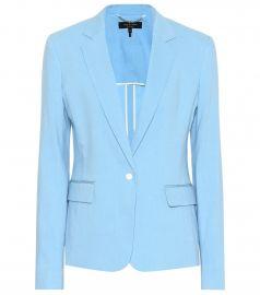 Lucy linen-blend blazer at Mytheresa