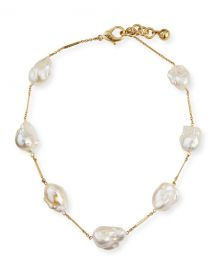 Lulu Frost Baroque 7-Pearl Necklace at Neiman Marcus