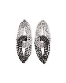 Lulu Frost Quixotic Crystal Statement Earrings at Neiman Marcus