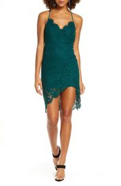 Lulus Flirting with Desire Floral Lace Cocktail Dress   Nordstrom at Nordstrom