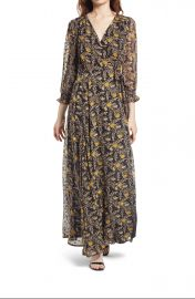 Lulus Meet Me There Wrap Dress at Nordstrom