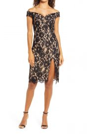 Lulus Table for Two Lace Dress at Nordstrom