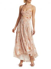 Lumi Cutout Pleated Dress at Saks Fifth Avenue
