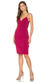 Lumier In The End Side Lace Up Dress in Mulberry from Revolve com at Revolve