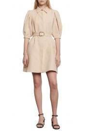 Luno Puff Sleeve Shirtdress at Nordstrom