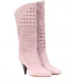 Lurrey suede boots at Mytheresa