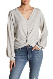 Lush Twist Sweater at Nordstrom Rack