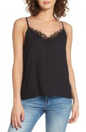 Lush Lace Trim Camisole at Nordstrom