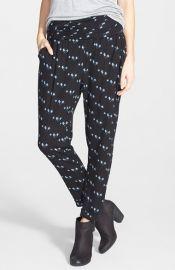 Lush Print Woven Pants at Nordstrom