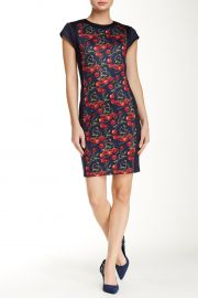 Luski Printed Bodycon Dress by Ted Baker at Nordstrom Rack