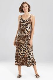 Luxe Leopard Gown by Natori at Natori