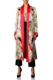 Luxurious Teddi Robe In Floral Print by  Kyle x Shahida at Kyle x Shahida