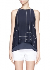Lyalka C Tank by Theory at Lane Crawford
