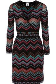 M MISSONI KNIT STRIPED DRESS at The Real Real