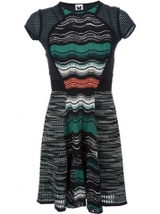 M Missoni Knitted Dress - Twistnscout-paleari Online Store at Farfetch