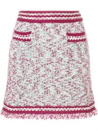 M Missoni Patterned Contrast Trim Mini Skirt  625 - Shop SS18 Online - Fast Delivery  Price at Farfetch
