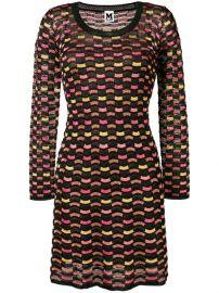 M Missoni Wave Knit Sweater Dress at Farfetch