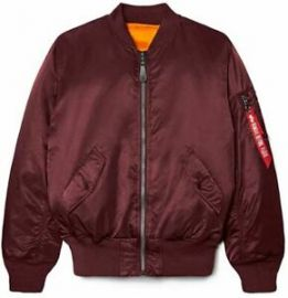 MA 1 Bomber jacket at Alpha Industries