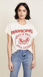 MADEWORN ROCK Ramones 1979 Rock Printed Tee at Shopbop