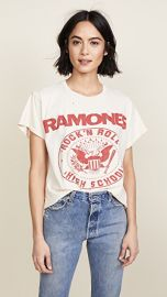 MADEWORN ROCK Ramones 1979 Rock Printed Tee at Shopbop