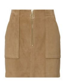MAGDA SUEDE MINI SKIRT at Intermix