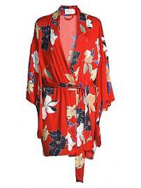 MAISON DU SOIR - Tokyo Floral Robe at Saks Fifth Avenue