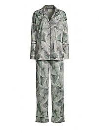 MAISON DU SOIR - Vienna Two-Piece Pajama Set at Saks Fifth Avenue
