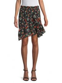 MAJE - MULTICOLORED FLORAL SKIRT at Saks Off 5th