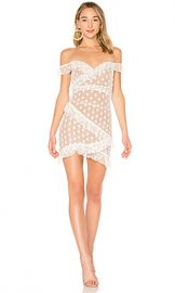 MAJORELLE Bandit Dress in White from Revolve com at Revolve