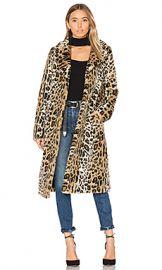 MAJORELLE Fifi Faux Fur Coat in Leopard from Revolve com at Revolve