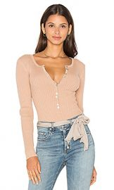 MAJORELLE Lariat Bodysuit in Blush from Revolve com at Revolve