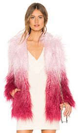 MAJORELLE Stella Coat in Pink Ombre from Revolve com at Revolve