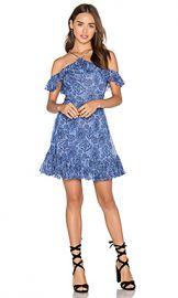 MAJORELLE Zuni Dress in Aztec Print from Revolve com at Revolve