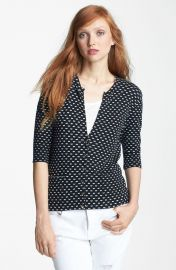 MARC BY MARC JACOBS   x27 Vivie  x27  Print Cardigan   Nordstrom at Nordstrom