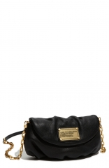 MARC BY MARC JACOBS Classic Q - Karlie Crossbody Flap Bag in black at Nordstrom
