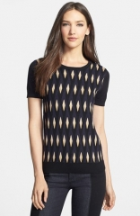 MARC BY MARC JACOBS Diamond Flame Print Sweater at Nordstrom