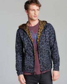 MARC BY MARC JACOBS London Leopard Hooded Rain Jacket at Bloomingdales