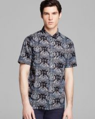 MARC BY MARC JACOBS Rex Snake Short Sleeve Sport Shirt - Slim Fit at Bloomingdales