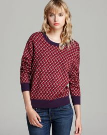MARC BY MARC JACOBS Sweater - Luna Jacquard at Bloomingdales
