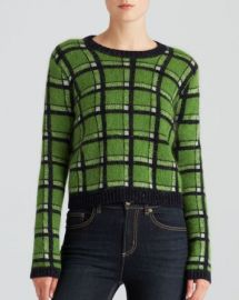 MARC BY MARC JACOBS Sweater - Prudence Plaid Reversible at Bloomingdales
