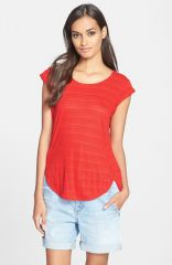 MARC BY MARC JACOBS and39Eloiseand39 Ombrand233 Jersey Muscle Tee in red at Nordstrom