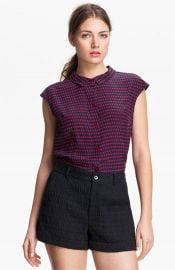 MARC BY MARC JACOBS and39Izzyand39 Silk Top at Nordstrom