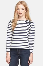MARC BY MARC JACOBS and39Jacquelynand39 Stripe Top at Nordstrom