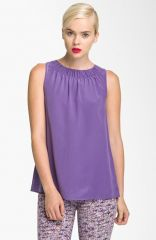 MARC BY MARC JACOBS and39Skylarkand39 Silk Top at Nordstrom