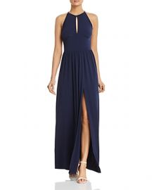 MICHAEL Michael Kors Keyhole Maxi Dress at Bloomingdales